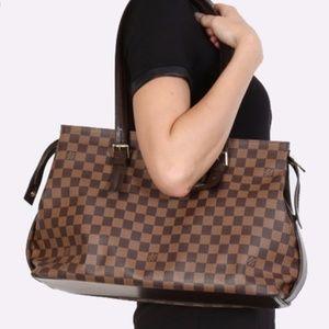 Authentic Louis Vuitton Damier Chelsea Ebene Bag